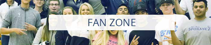 Fan Zone section button
