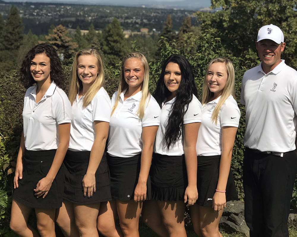 2018-19 Bigfoot Women's Golf Team