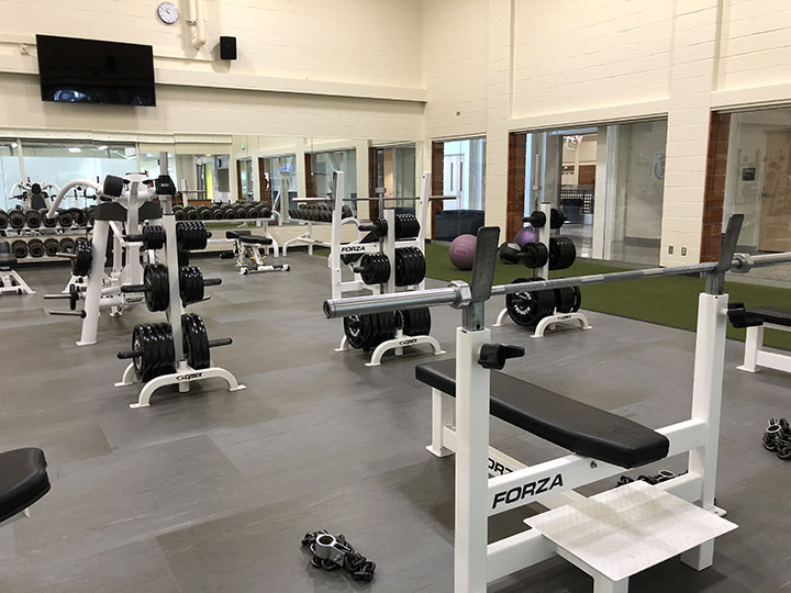 SFCC Weight Room