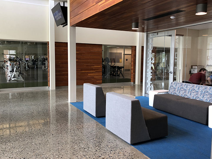 Lounge area outside of Training Room