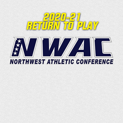 Northwest Athletic Conference (NWAC) 2020-21 Return to PLay graphic