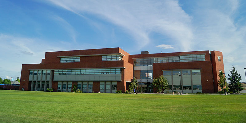 SCC science building exterior