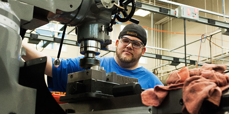 Male CNC Machining Operator