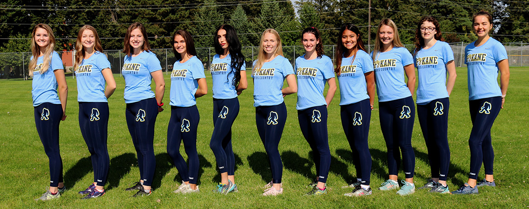 The Sasquatch Women's Cross Country team