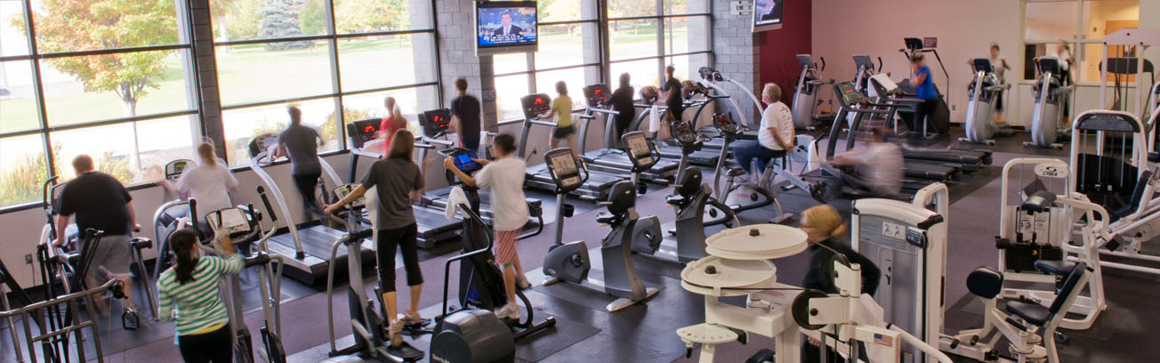 Cardioroom at the SCC Gym
