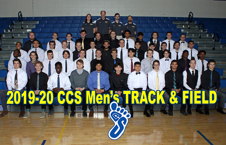 2019-20 Men's Track and Field Team Photo
