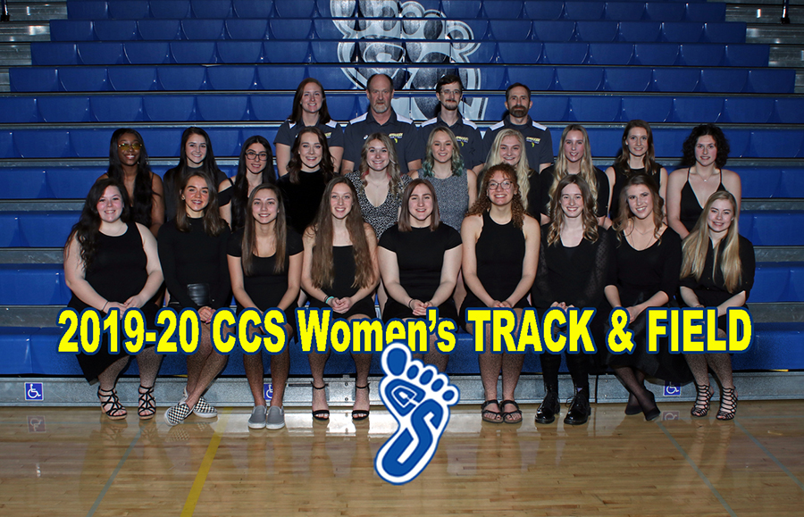 2019-20 Women's Track and Field Team